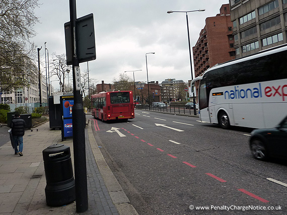 Finchley Road London Red Route